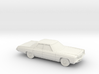 1/87 1971 Chevrolet Impala Sedan 3d printed