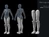 FB01-Legs-04 7inch 3d printed
