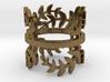 Laurel Leaves (Ring Size 4-11.25)  3d printed