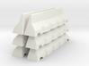 Concrete Road Block X 6 (Short) 3d printed