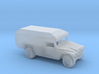 1/144 Scale M996 Humvee Mini-Ambulance M996 3d printed