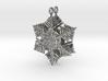 Snowflake Earrings - style H 3d printed
