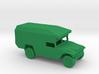 1/100 Scale Humvee Maxi Ambulance M997 3d printed