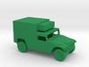 1/100 Scale Humvee Box M1037 3d printed