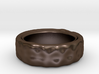 Hammered Ring 21mm 3d printed