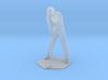 Male Golfer Puttiing 3d printed