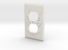 Decepticon Symbol Power Outlet Plate 3d printed