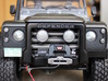Defender Spectre Winch Bumper - RC4WD 3d printed Painted satin black and installed with other Scale 4WD products.