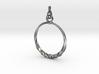 BlakOpal Twisting Hoop-small 3d printed