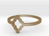 Morroccan Tile Ring Size 8 3d printed