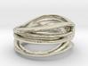 Waves Ring 3d printed