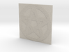 Grooved Pentacle Tile by ~M. 3d printed