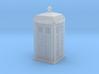 TARDIS / Police box Mk2 (British N 1:148) 3d printed