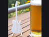 Fender Telecaster, Scale 1:6  3d printed Telecaster in good company with a beer