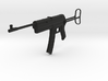 Sturmgewehr MP 45(M), Stock Out, Storm Rifle, 1/6 3d printed