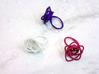 Sprouted Spiral Ring (Size 7) 3d printed Sprouted Spiral Rings