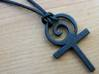 The Ancient Cross pendant 3d printed