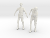 1-24 Male Zombie Set4 3d printed