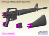 1/9 M16 Assault rifle (model 601) 3d printed