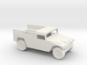 1/100 Scale Humvee Cargo Carrier 3d printed