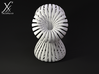 Triple Klein Bottle 3d printed Cycle render (front view).