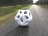 Hollow Hedra 3d printed