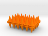 48 Traffic Cones, Small, 1/64 3d printed