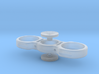 25 Sentimo Spinner with Buttons 3d printed