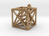 Metatron's Cube with ring 3d printed