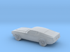 1/87 1970 Ford Mustang Mach 1 3d printed