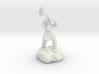 Dwarf Fighter With Warhammer 3d printed