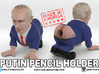 Putin Pencil holder - large 3d printed