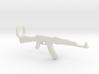 AK 47 Keychain 3d printed