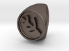 Classic Elder Sign Ring Size 9 3d printed
