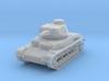 PV150C Pzkw IVD Medium Tank (1/87) 3d printed