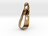Triple Cube Brass 036 3d printed