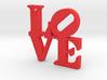 LOVE Sculpture  3d printed
