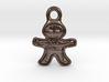 Gingerbread Man Pendant 3d printed