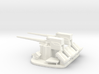 1/144 Scale 3 In 50 Cal Twin Mount 3d printed