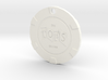 The Tops Chip Pendant 3d printed
