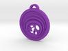 Psychonauts Shield Badge Keychain 3d printed