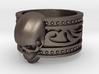 Tribal Skull Ring  3d printed