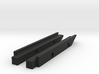 Beneteau 36.7 & SparCraft FM385 MastGate-JC 3d printed set of black inserts