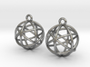 Planetary Merkaba Earrings 3d printed