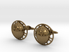 Bilbo's acorn cufflinks 3d printed