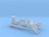 """1/48 Russian ShCH """"PIKE"""" Series X Deck Gun 3d printed"""
