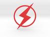 Kid Flash Emblem 3d printed