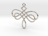 Dragonfly Celtic Knot Pendant 3d printed