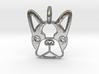 Boston Terrier Pendant 3d printed Boston Terrier Pendant