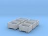 SET 6x Eoskrt 021 Behälter (TT 1:120) 3d printed